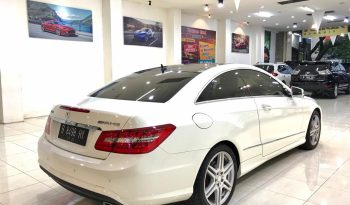 MERCEDES BENZ E 350 AMG PACKAGE 2009 full
