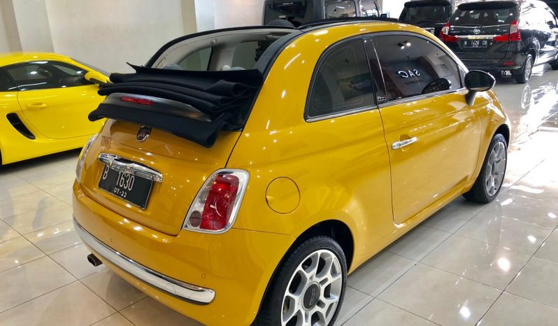 FIAT 500 C LOUNGE 1.4 Convertible AMT 2015 full