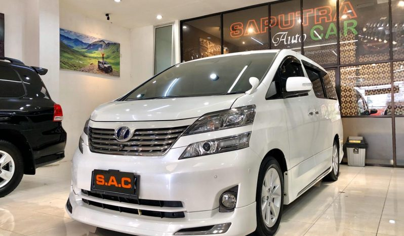 TOYOTA VELLFIRE ZG PREMIUM SOUND 2.4 AT 2010 full